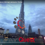 Michael Jackson's Thriller playing at the Dubai Mall Fountains, viewed from the Souk Al Bahar Side. This is a 360 video, best viewed on the Oculus Rift. Not bad on the Samsung VR Gear too :) For more information or similar services drop us a line at info (at) pearlquest.ae