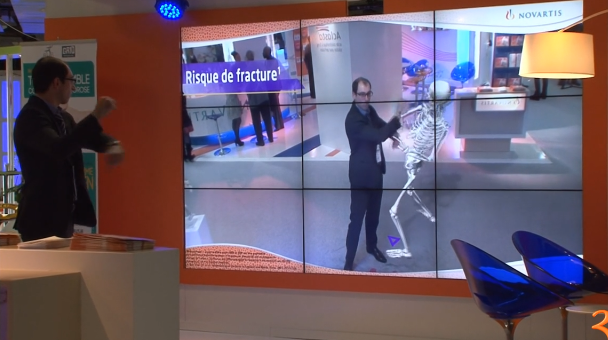 Augmented Reality Interactive Skeleton Example Pearlquest